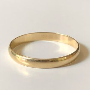 Other - 10K Yellow Gold Unisex Band